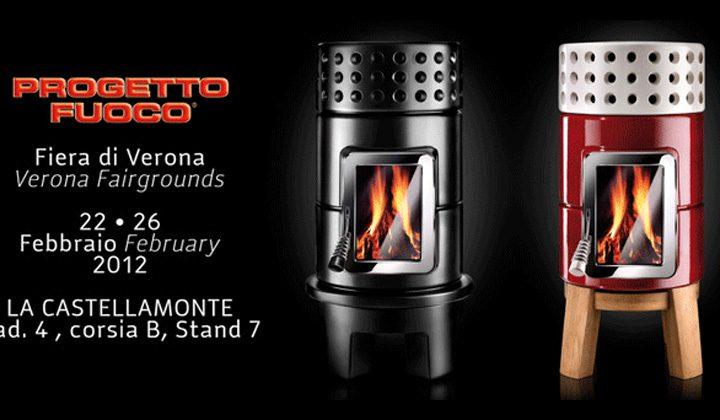 Le stufe Stack a 'Progetto Fuoco 2012, Verona'