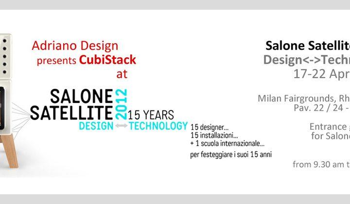 Le stufe Stack al 'Salone Satellite 2012'