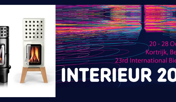 Le stufe Stack alla 'Biennale INTERIEUR 2012 Belgium'