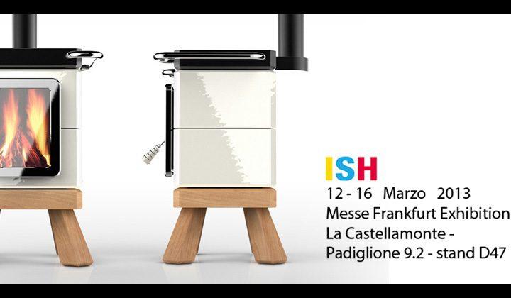 La Castellamonte e Adriano Design presentano CookinStack al ISH  2013