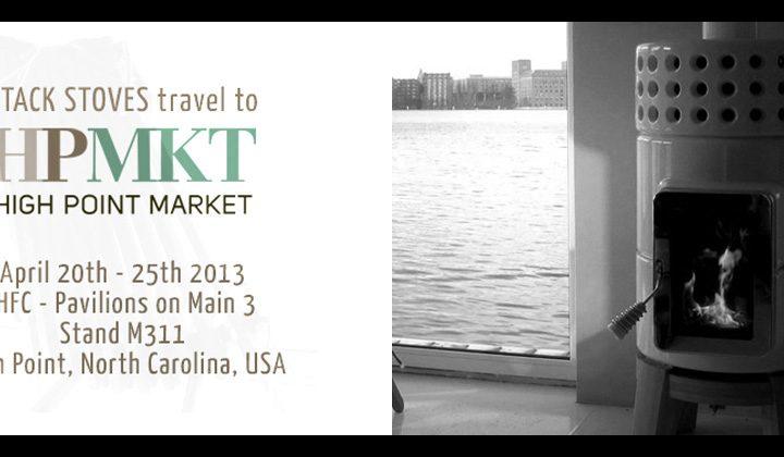 Le stufe Stack in esposizione al 'High Point Market 2013'