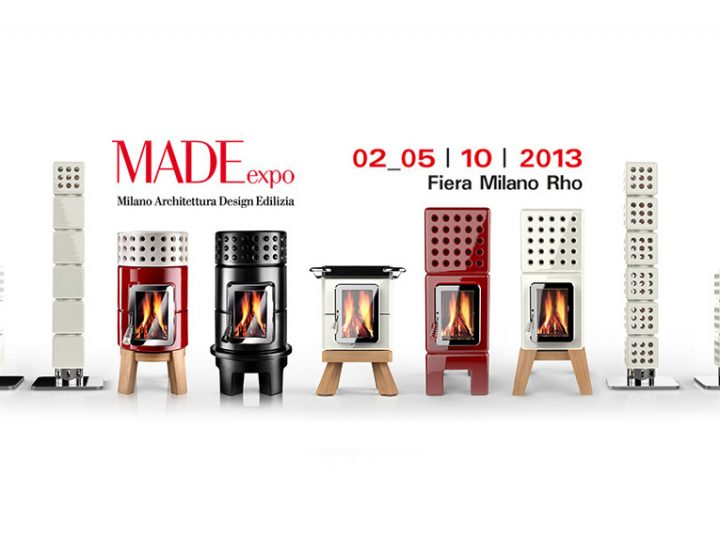 Le stufe Stack al MADE expo 2013