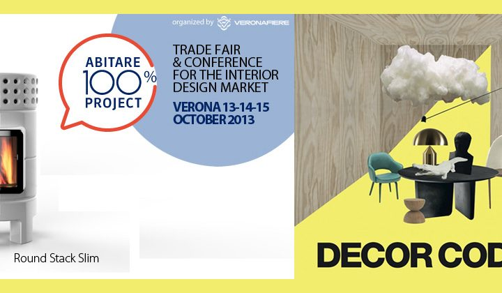 Le stufe Stack ad 'Abitare 100% Project – Decore Codes'