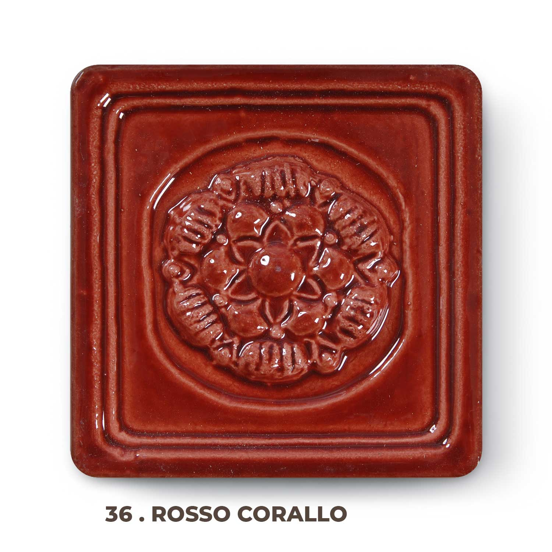 36 . Rosso Corallo