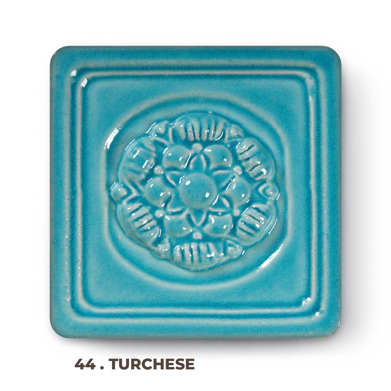 44 . Turchese