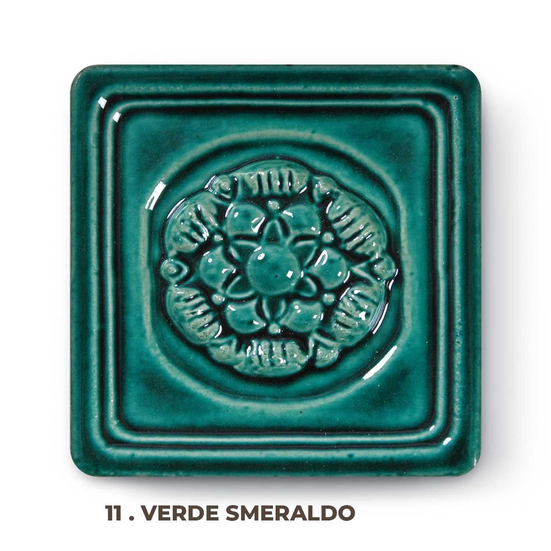 11 . Verde Smeraldo