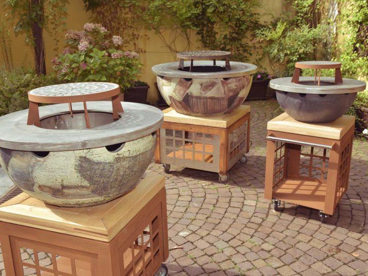 Foculus, the new outdoor ceramic barbecue